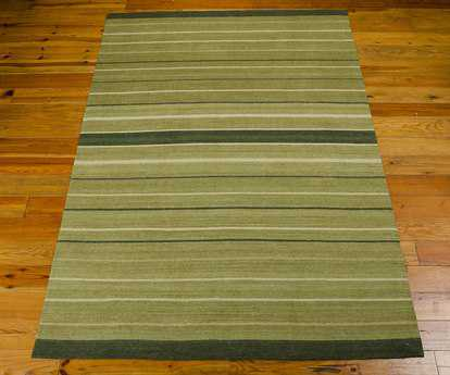 Nourison Kathy Ireland Home 08 Griot Rectangular Thyme Area Rug