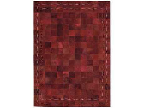 Nourison Medley Rectangular Scarlet Area Rug