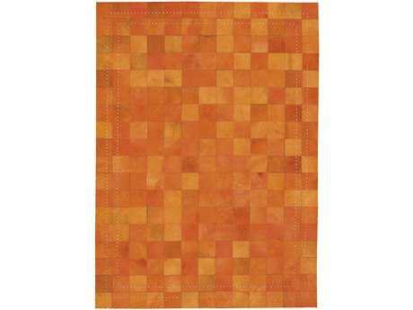 Nourison Medley Rectangular Tangerine Area Rug