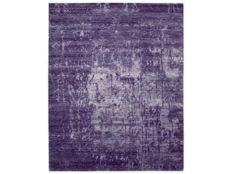 Nourison Silk Shadows Rectangular Amethyst Area Rug