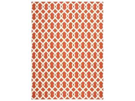 Nourison Waverly Sun & Shade Rectangular Sienna Area Rug