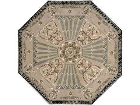Nourison Versailles Palace 6' Octagon Beige Area Rug