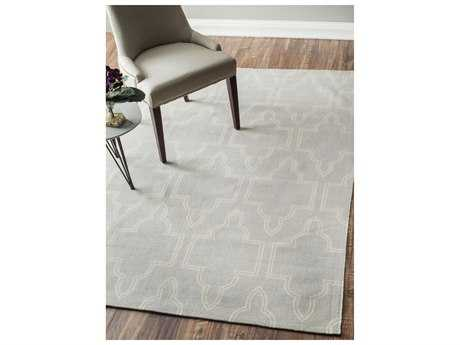 Nuloom Machine Woven Justin Light Grey Rectangular Area Rug