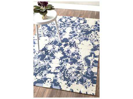 Nuloom Hand Woven Charise Blue Rectangular Area Rug