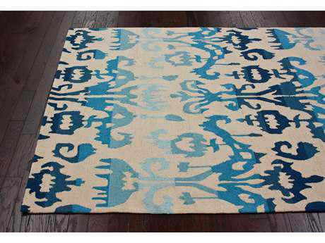 nuLOOM Barcelona Blue Rectangular Area Rug