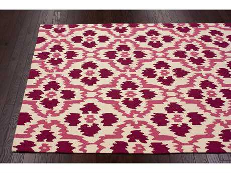 nuLOOM Barcelona Pink Rectangular Area Rug