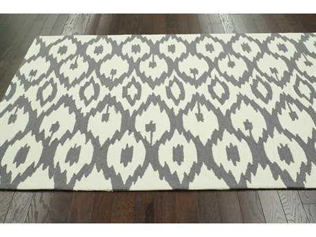nuLOOM Barcelona Soft Grey Rectangular Area Rug