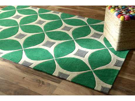 nuLOOM Barcelona Emerald Rectangular Area Rug