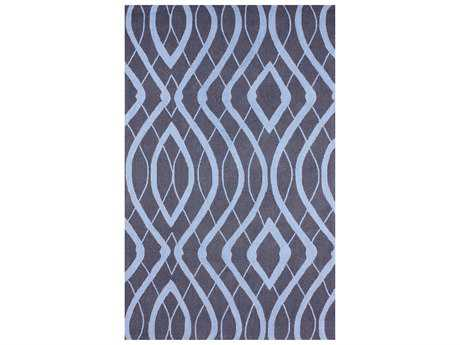 nuLOOM Barcelona Purplish Navy Rectangular Area Rug
