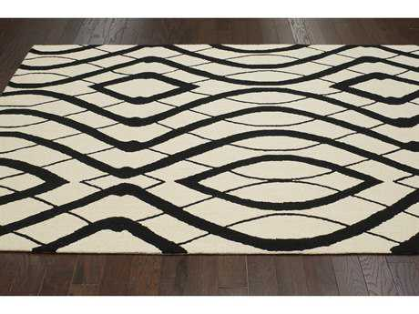 nuLOOM Barcelona White Rectangular Area Rug