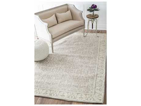 Nuloom Woodall Tan Rectangular Area Rug