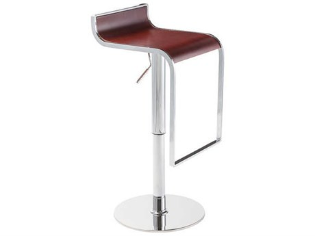 Nuevo Living Nero Brown Adjustable Swivel Table / Counter / Bar Stool