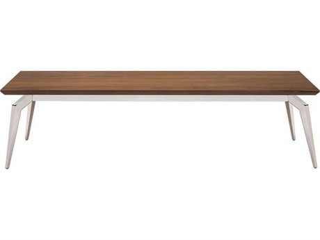 Nuevo Living Tapered Brown 48'' x 24'' Rectangular Coffee Table