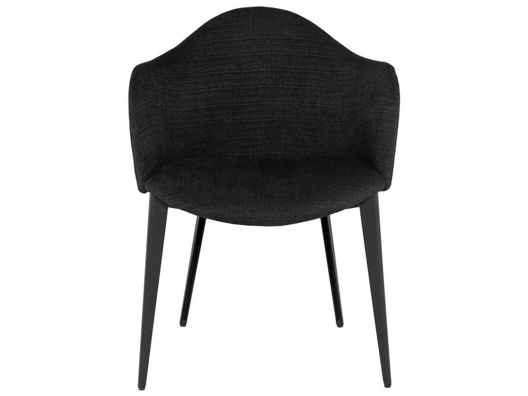 Nuevo Living Nora Coal / Titanium Matte Arm Dining Chair ...