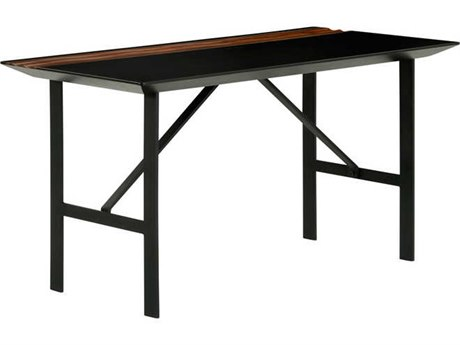 Nuevo Living Swell Black 55.3'' x 27.5'' Rectangular Writing Desk
