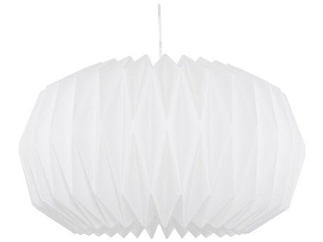 Nuevo Living Diamond White 19.5'' Wide Pendant Light