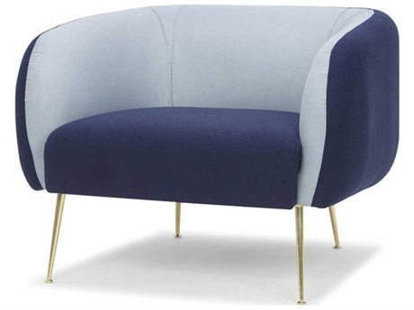 Nuevo Living Astrid Blue Club Chair
