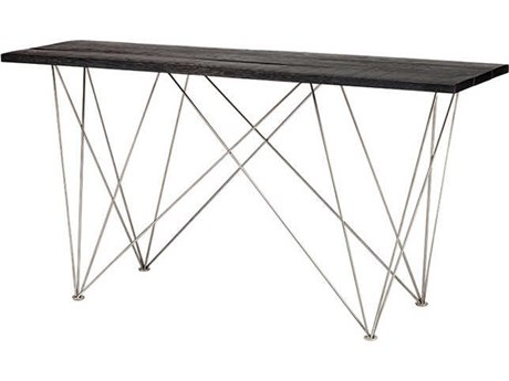Nuevo Living Zola Brown 59.3'' x 17.8'' Rectangular Console Table