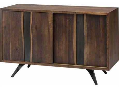 Nuevo Living Vega Brown Two-Door 47.3'' x 19'' Sideboard Cabinet - Buffee
