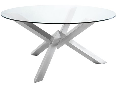 Nuevo Louisa 23.5''L x 20.5''W Hexagon End Table