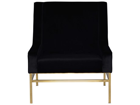 Nuevo Living Theodore Black Accent Chair