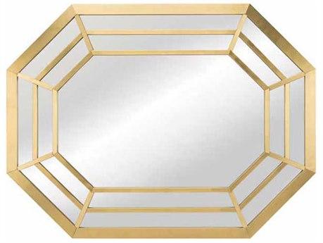Nuevo Living Octavia 39.5'' x 30'' Hexagonal Wall Mirror