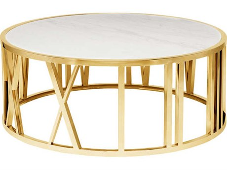 Nuevo Living Roman 41.5'' Round Coffee Table