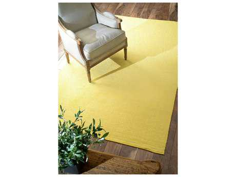 Nuloom Hand Loomed Diamond Cotton Check Ming Yellow Area Rug