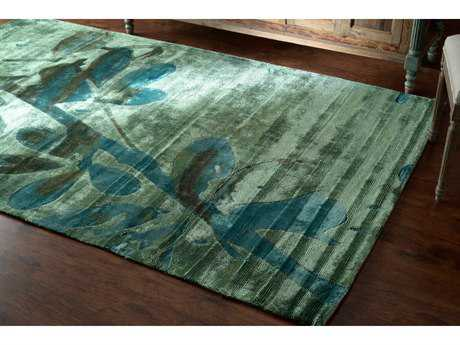 nuLOOM Europe Green Rectangular Area Rug