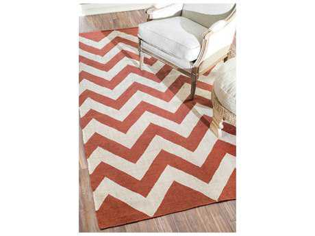 Nuloom Gulf Flatweave Indoor/Outdoor Glenn Red Area Rug