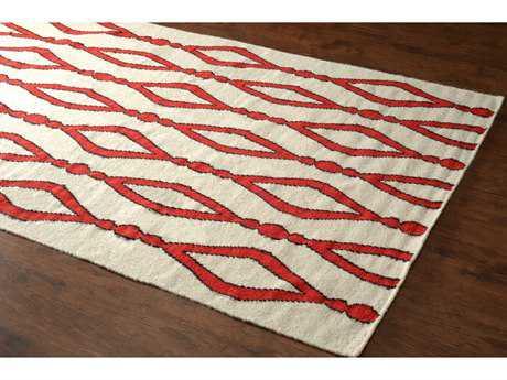 nuLOOM Varanas Red Rectangular Area Rug