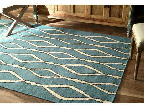 nuLOOM Varanas Blue Rectangular Area Rug