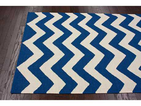 nuLOOM Varanas Navy Rectangular Area Rug