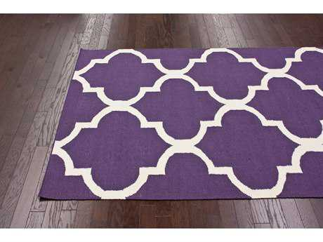 nuLOOM Varanas Purple 7'6'' x 9'6'' Rectangular Area Rug