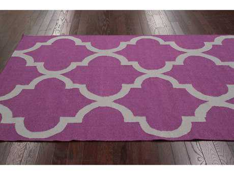 nuLOOM Varanas Purple Rectangular Area Rug