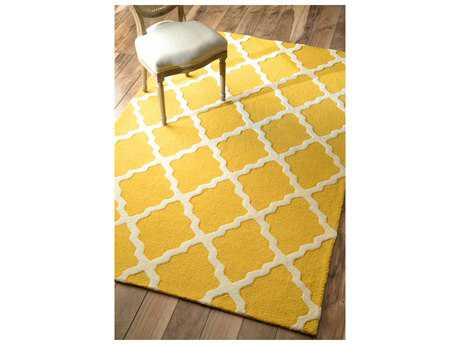 nuLOOM Varanas Gold Rectangular Area Rug