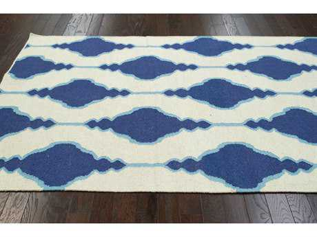 nuLOOM Varanas Blue Rectangular Area Rug
