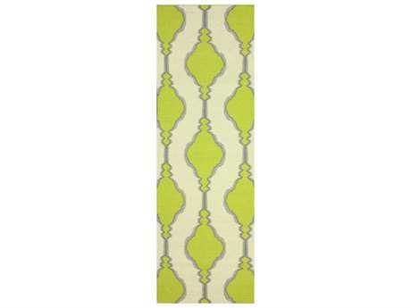 nuLOOM Varanas Green 2' 6'' x 8' Rectangular Runner Rug