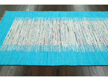 nuLOOM Madison Turquoise Rectangular Area Rug