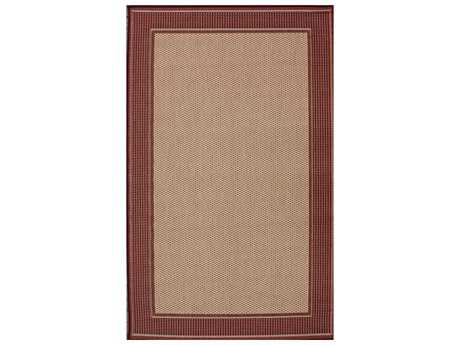 nuLOOM Dawn Red Rectangular Area Rug
