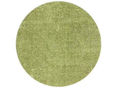 Nuloom Machine Made Thyme Shag Thyme 5'3'' Round Area Rug