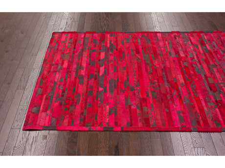 nuLOOM Lumen Red 5' x 8' Rectangular Area Rug
