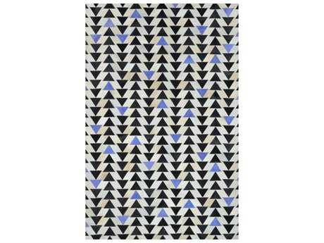 nuLOOM Lumen Blue Rectangular Area Rug