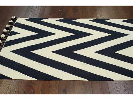 nuLOOM Lexington Black Rectangular Area Rug