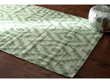 nuLOOM Textures Green Rectangular Area Rug