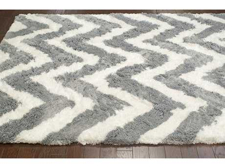 nuLOOM Cloud Grey Rectangular Area Rug