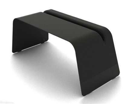 Orange22 Carbon 72''L x  32.5''D Rectangular Carbon Fiber Re-Entry Office Desk