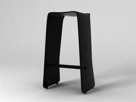 Orange22 Carbon Black Slip Bar Stool