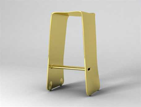 Orange22 Carbon Gold Slip Bar Stool