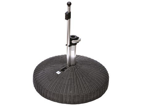Oasis Rolling Bases 130lb Wicker Round Umbrella Base